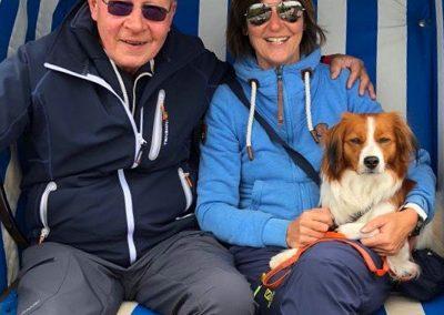 Das sind wir: Sigrid, Klaus-Peter und Ayliena